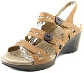 Romika Waikiki Women US 9.5 Brown Wedge Sandal