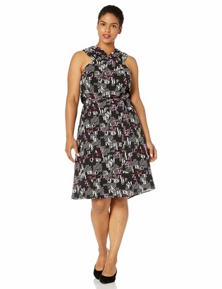 Rachel Roy Women's Plus Size Prem Print Dress