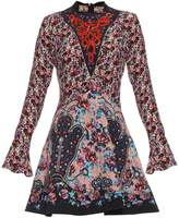 Mary Katrantzou Holbert Cosmo Rose-print A-line dress