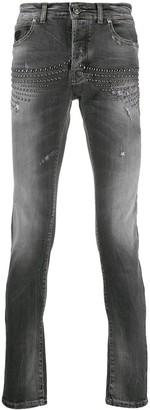 John Richmond Distressed Skinny Jeans