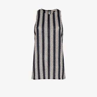 Three Graces Chiara striped knit top