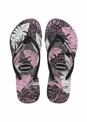 Havaianas Women's Slim Surf Floral Flip Flop Sandal