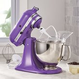 Crate & Barrel KitchenAid ® Artisan Grape Stand Mixer