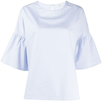 Peserico Short-Sleeved Blouse