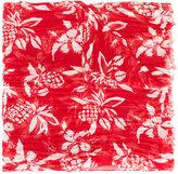Saint Laurent Hawaiian print scarf - men - Silk/Cashmere - One Size