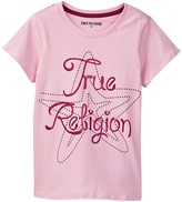 True Religion Logo Tee (Toddler & Little Girls)