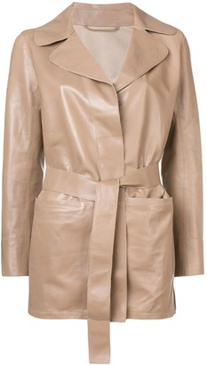 Sylvie Schimmel Mirage Love leather jacket