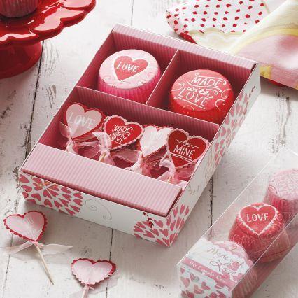 Sur La Table Meri Meri® Valentine's Day Made With Love Bake Cup Set