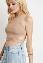 Forever 21 Side-Cutout Crop Top