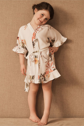 Plum Pretty Sugar Vista Flutter Flower Girl Robe