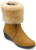 Hotter Truro Luxury Low Wedge Ankle Boots