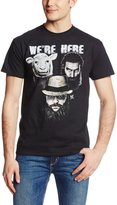 WWE Men's The Wyatt Family We'Re Here Tee - Officially Licensed