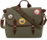 Pendleton Park Leather Trimmed Messenger Bag