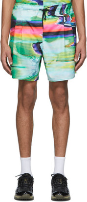 Rochambeau Multicolor Scramble Sport Shorts