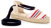 Soludos Striped Platform Gladiator Sandal