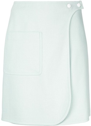 Paule Ka Mini Wrap Skirt