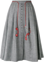 Olympia Le-Tan telephone embroidered skirt