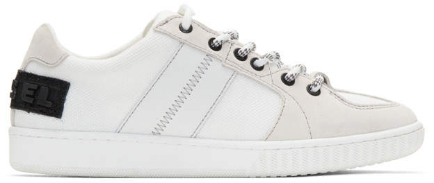 Diesel White S-Millenium LC Sneakers