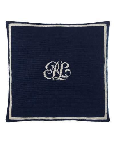 """Ralph Lauren Home Leighton Pillow, 16""""Sq."""