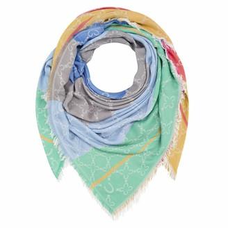 Codello Women's Damen XL-Logotuch aus feiner Viskose Ladies XXL scarf | Logo cloth made of fine viscose | 120x120cm