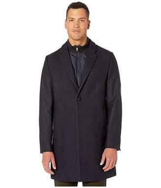 Ted Baker Saffend Semi Plain Overcoat