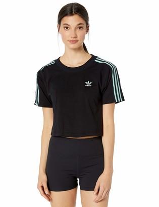 adidas Women's Cropped Tee Shirt