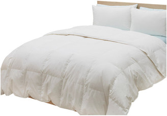 The Unbranded Bed 650 Fill Power White Down Comforter, King, Summer Weight
