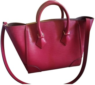 Louis Vuitton Phenix Pink Leather Handbags