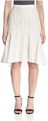 Aijek Women's Eyelet Skirt