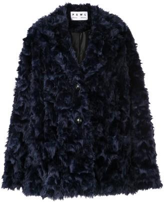 Proenza Schouler White Label Faux Shearling Coat