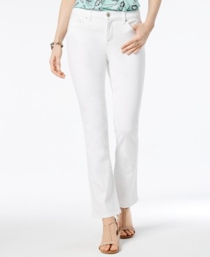 Style&Co. Style & Co Petite Tummy-Control Bootcut Jeans, Created for Macy's