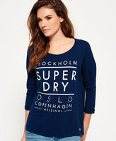 Superdry Nordic Slouch Crew Neck Top