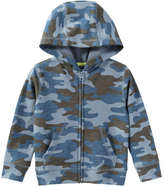 Joe Fresh Toddler Boys' Print Hoodie, Dusty Blue (Size 2)