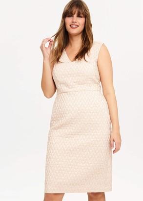 Phase Eight Nieve Jacquard Dress