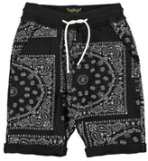 Finger In The Nose Sale - Grounded Bandana Print Sweat Shorts