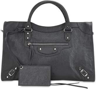 Balenciaga Classic City Leather Top Handle Bag