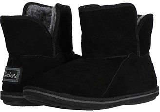 Skechers Cozy Campfire - Bunny Cuddles (Black) Women's Boots