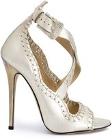 Marchesa 'Mae' sandals - women - Suede - 36