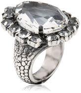 Emanuele Bicocchi Swarovski Crystal Ring