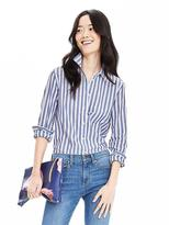 Banana Republic Dillon-Fit Vertical Stripe Shirt
