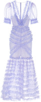 Alice McCall Tokyo Skies Tiered Mesh Gown