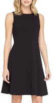 Tahari Women's Seamed Knit Fit & Flare Dress