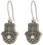 Alex and Ani Hand of Fatima Hook Earrings Earring
