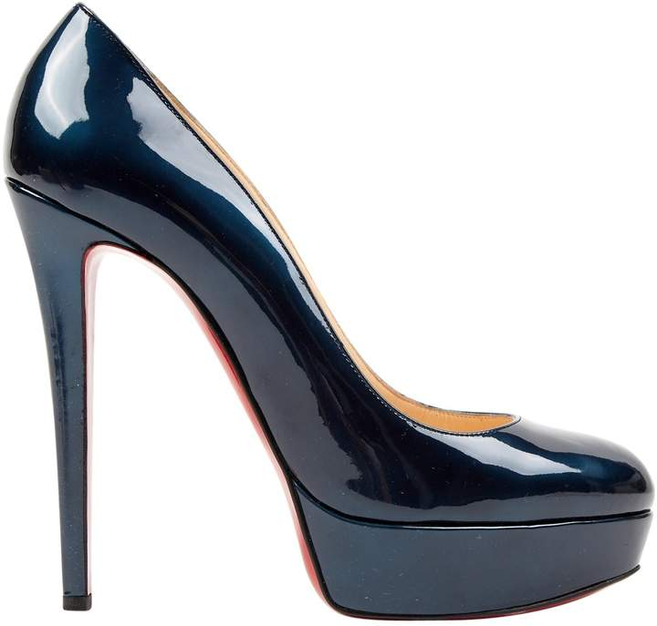 info for 2058c 28a0d Bianca Blue Patent leather Heels