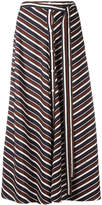 Nina Ricci buttoned midi skirt