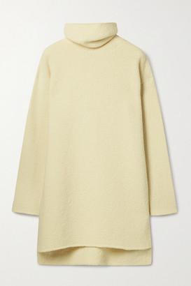 Deveaux Yara Wool-blend Turtleneck Sweater - Ivory