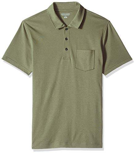 6c5805525 Men Olive Green Polo Shirts - ShopStyle