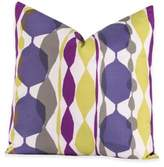 Crayola Bejeweled 16-Inch Square Throw Pillow in Purple