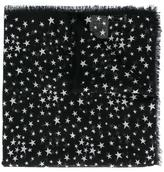 Saint Laurent 'Étoiles' large printed scarf