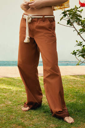 Urban Outfitters Bjorn Low-Rise Wide Leg Pant